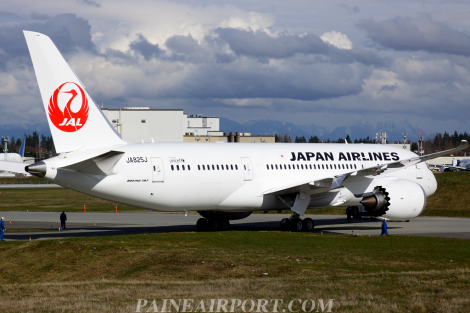 JAL 787 Delivery